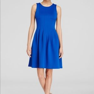 Scuba Fit and Flare Dress